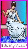 High Priestess -- Tarot of the Masters