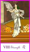 Strength -- Tarot of the Masters