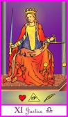 Justice -- Tarot of the Masters