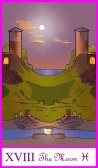 The Moon -- Tarot of the Masters