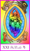 World Card -- Tarot of the Masters