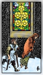 RWS 2.0 Five of Pentacles