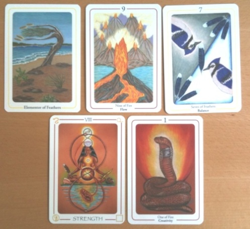 RS10 Foundation Reading with Fifth Tarot