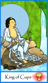King of Cups -- Tarot of the Masters