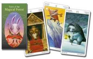 Tarot of the Magical Forest cards