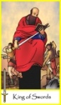 King of Swords -- Tarot of the Masters