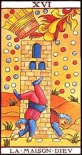 Marseille Tarot - Maison Dieu (Tower)