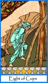 Eight of Cups -- Tarot of the Masters