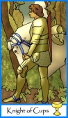 Knight of Cups -- Tarot of the Masters