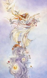The Fool -- Shadowscapes Tarot