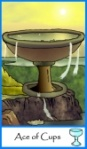 Ace of Cups -- Tarot of the Masters