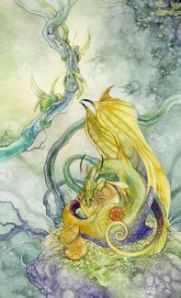 Four of Pentacles -- Shadowscapes Tarot