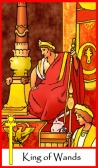 King of Wands -- Tarot of the Masters