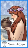 Youth / Page of Cups -- Tarot of the Masters