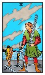 Five of Swords -- RWS2.0