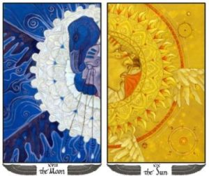 Mary-El Moon and Sun