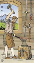 Alchemical Tarot Five Swords
