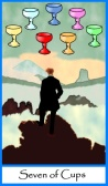 Seven of Cups -- Tarot of the Masters