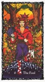 Fool Sacred Rose Tarot