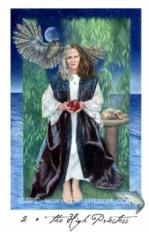 Gaian Tarot High Priestess