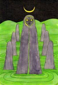 Tarot of the Crone priestess