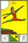 Tarot of Ceremonial Magick -- Fool