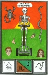 Tarot of Ceremonial Magick -- DEATH