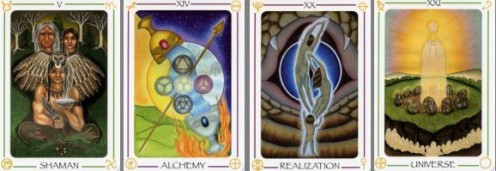 Majors renamed in Fifth Tarot