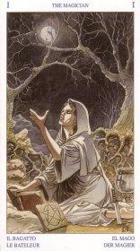 Pagan Tarot -- Magician