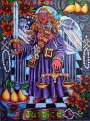 Pearls of Wisdom Tarot Justice