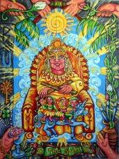 Pearls of Wisdom Tarot Sun
