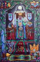 Pearls of Wisdom Tarot queen of swords