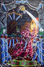 Pearls of Wisdom Tarot Nine of Swords