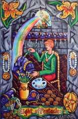 Pearls of Wisdom Tarot Eight of Pentacles