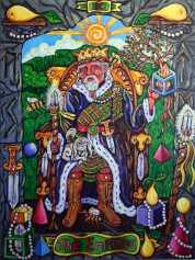 Pearls of Wisdom Tarot Emperor
