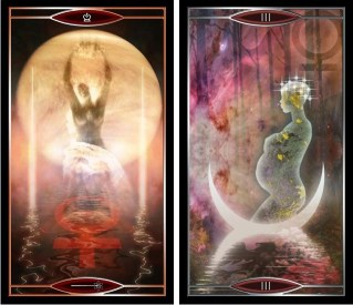 Quantum Tarot QW and Empress