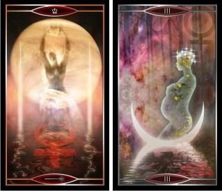 Quantum Tarot QW and Empress