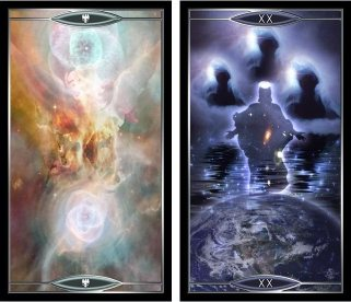 Quantum Tarot Phoenix and Judgement