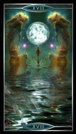 Quantum Tarot Moon