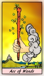 RWS 2.0 Ace of Wands