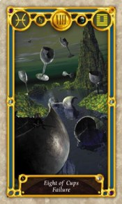Quest Tarot 8 of cups