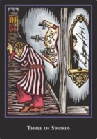 Three of Swords -- World Spirit Tarot