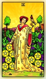 RWS 2.0 Nine of Pentacles