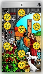 RWS 2.0 Ten of Pentacles