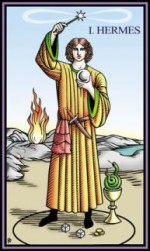 Tarot of the Sevenfold Mystery Hermes Magician