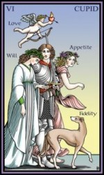 Tarot of the Sevenfold Mystery Lovers