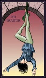 Tarot of the Sevenfold Mystery Hanged Man