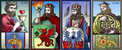 Four Kings Tarot of the Sevenfold Mystery