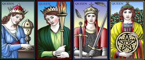 Four Queens Tarot of the Sevenfold Mystery