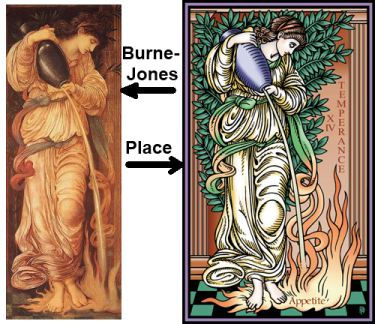 Temperance by Burne Jones and Robert Place